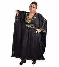 Damen Kaftan Kleid im Oriental Style, Einheitsgröße: M bis 3XL
