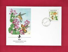 BAHAMAS - RUFOUS HUMMINGBIRD - INTERNATIONAL AUDUBON FUND - FIRST DAY COVER 1989