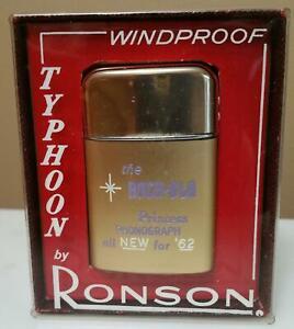1962 Rockola Princess Jukebox Ronson Lighter UNUSED in Box & Price Tag on it!