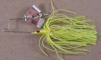 Bass Fishing Lure 1/8 oz. DR Custom Mini Flat Frog Buzz Bait, Spinnerbait