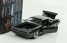 Fast e Furious Diecast Model 1/24 1970 Plymouth Letty's Barracuda Jada Toys