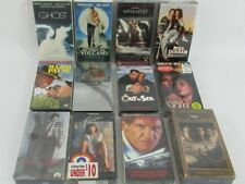LOT mixed 12 VHS movies classics SEALED Ghost Apollo 13 Bull Durham Gigolo