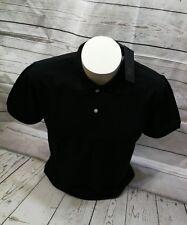 Prodigy Poloshirt Polo Gr. XL 54 100% Cotton Kurzarm  Schwarz Knopfleiste
