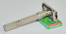 1967 Gillette Adjustable Slim DE Razor, GREAT SHAPE, M-1