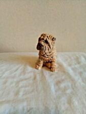 Shar Pei Puppy Dog Statue Decor