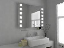 Illuminated Bathroom Mirror with Sensor, Shaver and Demister - Neo - c29d