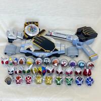 Masked Kamen Rider WIZARD DRIVER Belt Gun dragotimer 30 RING set bandai JAPAN 2