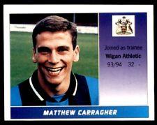 Panini Football League 95 - Matthew Carragher (Wigan Athletic) No. 599