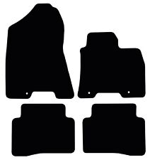 Hyundai Tucson (2015 to present) Black Penny Fully Tailored Rubber Floor Mats