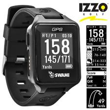 IZZO SWAMI GOLF GPS WATCH / DISTANCES / HAZARDS / SCORECARD / NEW 2020 MODEL