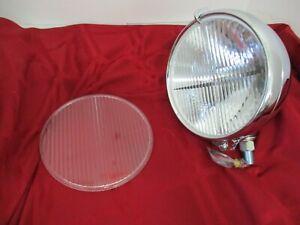 Vintage Bentley center spot light fluted glass replacement lens