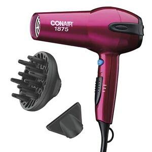 Conair 1875 Watt Cord-Keeper Hair Dryer, Pink