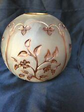 tulipe globe couleur lampe a petrole