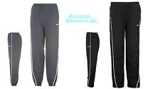 Boys Slazenger Woven Pants/tracksuit Bottoms 7-13y Sports/jogging Trousers 7 - 8 Years Open Hem Navy Blue