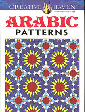Arabic Patterns - A Creative Haven Adult Coloring Book from Dover Publications