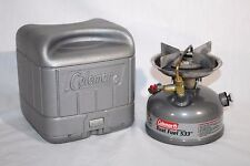 Coleman 533 Single Burner Dual Fuel Stove, w/ Carry Case, Camping,Hunting,03/02