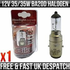 SCOOTER HALOGEN UPGRADE BULB 12V 35/35W BA20D
