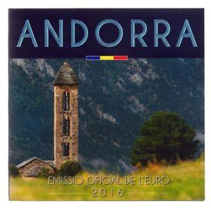 Coffret BU Andorre 2016