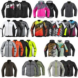 *SHIPS SAME DAY* ICON Womens Motorcycle Jacket (Every Womens Icon Jacket)