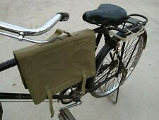 SURPLUS VIETNAM ERA CHINESE MILITARY BICYCLE MESSENGER BAG POUCH CANVAS PACK