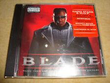BLADE Soundtrack GANG STARR M.O.P. MYSTIKAL BIZZY BONE BOUNTY KILLER MOBB DEEP