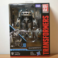 HASBRO Transformers STUDIO SERIES DELUXE CLASS SS 10 AUTOBOT JAZZ Action Figure