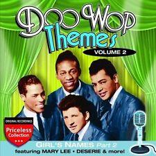 CD de musique rock Doo Wop