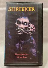 Shrieker 1997 VHS-Clamshell Case