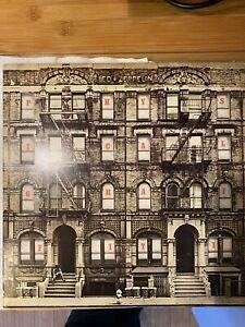 Led Zeppelin - Physical Graffiti double vinyl LP. Swan Song 1975.