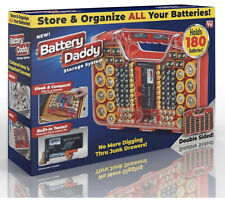 Battery Daddy, 180 Battery Organizer and Storage Case with Tester