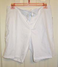 NWT Kanu Surf Women's Breeze Boardshort,Style #8101,White,Size 14,Polyester
