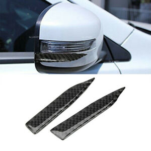 1 Pair For BMW Carbon Fiber Car Rearview Mirror Trim Side Mirror Protector Guard