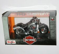 Maisto - Harley Davidson 2009 FXDFSE CVO Fat Bob (Silver) Model Scale 1:18