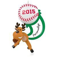 Star Slugger - 2015 Hallmark Personalize Ornament - Sports - MLB - Baseball