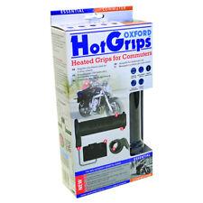 Oxford HOT GRIPS OF771 Motocicleta CLIMATIZADA APRETONES de cercanías Esencial Bicicleta Hotgrips