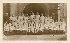 Tamworth photo. Church Choir & Priests by C.E.Weale, Tamworth.