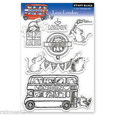 New Penny Black LOVE LONDON England Summer Olympic Clear Stamp Hedgehog Critters