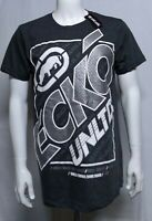 ☆NEW ECKO UNLTD. AUTHENTIC LOGO MEN'S SHORT SLEEVE BLACK  T-SHIRT SIZE LARGE