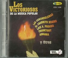 Los Victoriosos De La Musica Popular Volume 5 Latin Music CD