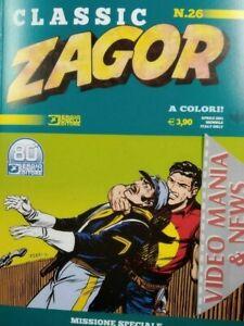 CLASSIC ZAGOR  A COLORI 26 MISSIONE SPECIALE .Bonelli Editore**CORRIERE *
