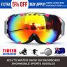 Adults Winter Snow Sports Goggles Ski Snowboard Snowmobile Skate Eyewear Glasses