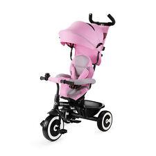 Kinderkraft Triciclo Evolutivo ASTON Plegable Cinturón 9 Meses a 5 Años Rosa
