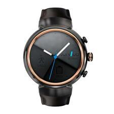 ASUS ZenWatch 3 Android Wear Smartwatch Gunmetal Dark Brown Leather WI503Q