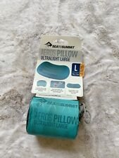 Sea To Summit Aeros Ultralight Pillow Size L In Sea Foam $47.95