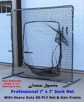 Fielder Safety Screen 7/' x 7/' Replacement Rectangular Net #42 HDPE with NO FRAME