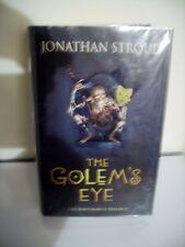 THE GOLEMS EYE - Jonathan Stroud UK 1st Signed