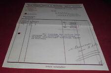 rechnung papier theodor groz & söhne  nadel fabrik ebingen württemberg 1932 deko