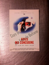 ADIEU MA CONCUBINE CHEN KAIGE FAREWELL MY CONCUBINE carte postale postcard