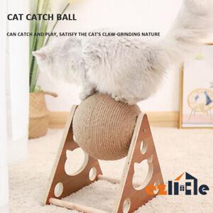 Cat Scratcher Grinding Hone Claw Pet Scratching Toys Ball Scratch Board Cats