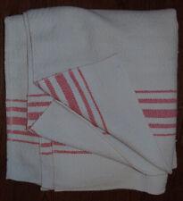 Antique Homespun Wool Blanket , Two Panels 80 x 71 in.